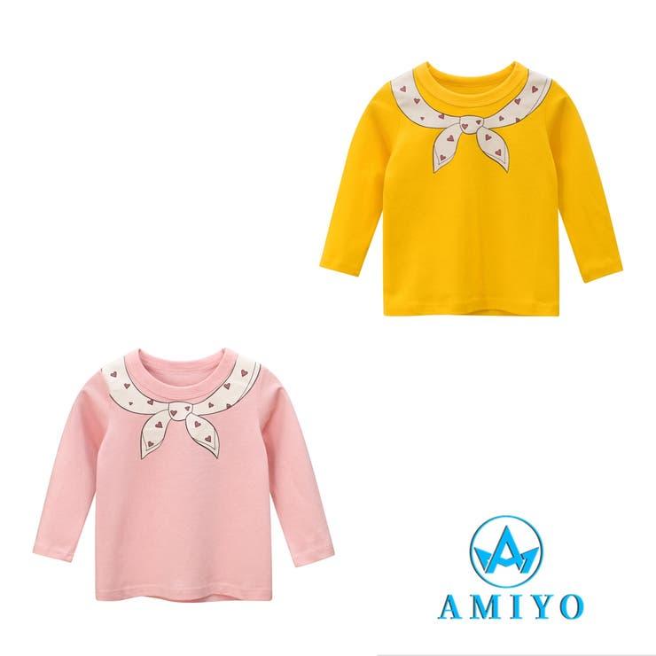 プリントロングTシャツ 8115   Amiyo   詳細画像1