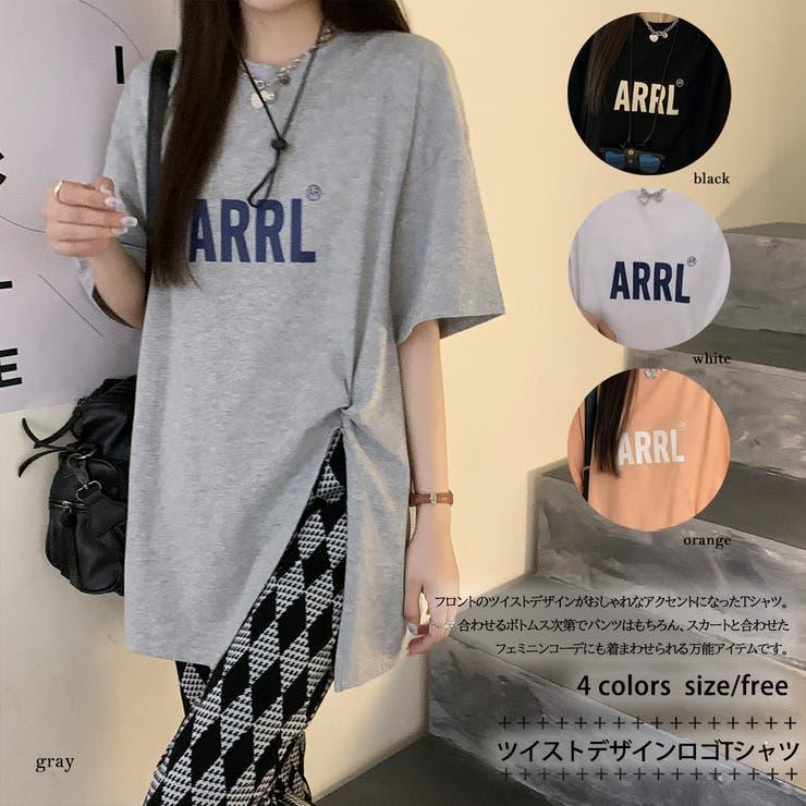 ツイストデザインロゴTシャツ 8430 | G&L Style | 詳細画像1