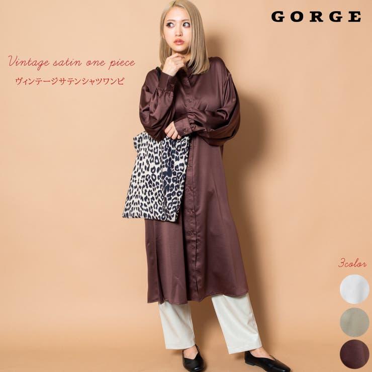 GORGE のワンピース・ドレス/シャツワンピース   詳細画像
