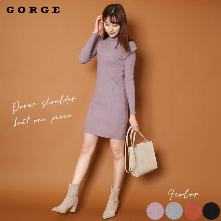 GORGE のワンピース・ドレス/ニットワンピース | 詳細画像
