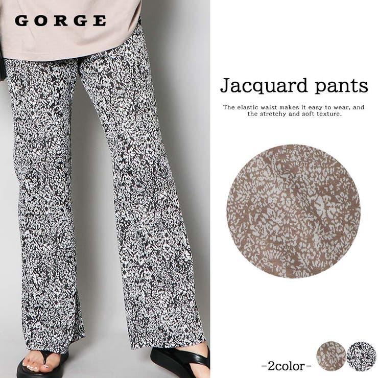 GORGE のパンツ・ズボン/ワイドパンツ   詳細画像