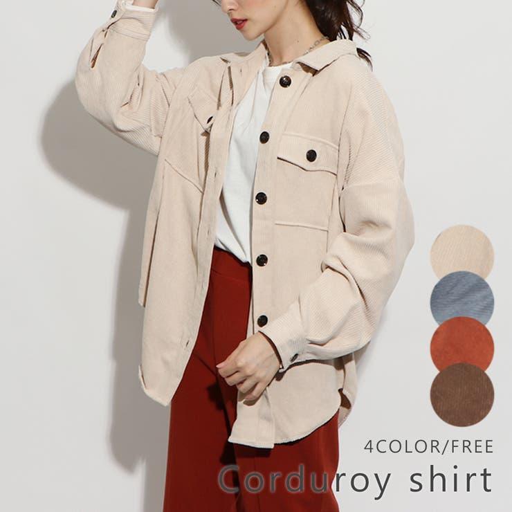 コーデュロイシャツ | GORGE  | 詳細画像1