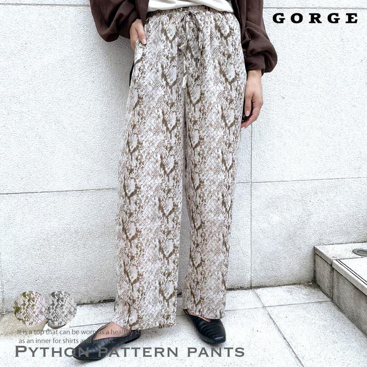 パイソンパンツ | GORGE  | 詳細画像1
