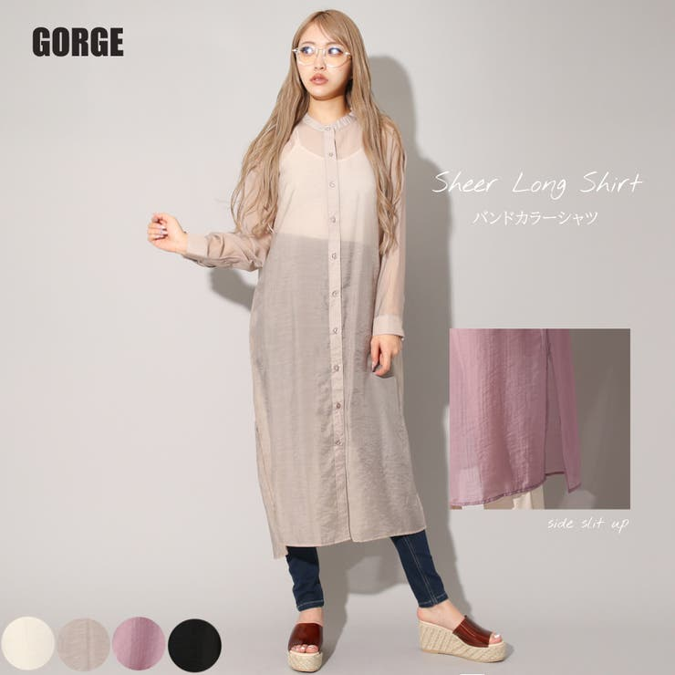GORGE のワンピース・ドレス/シャツワンピース | 詳細画像
