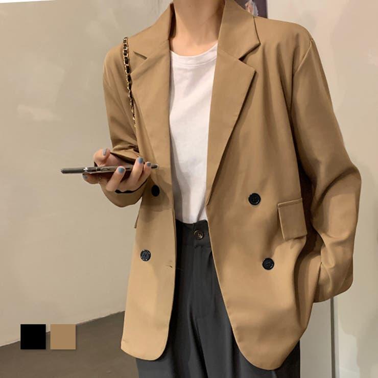 ミディアム丈 テーラードジャケット grandeir | Grandeir | 詳細画像1