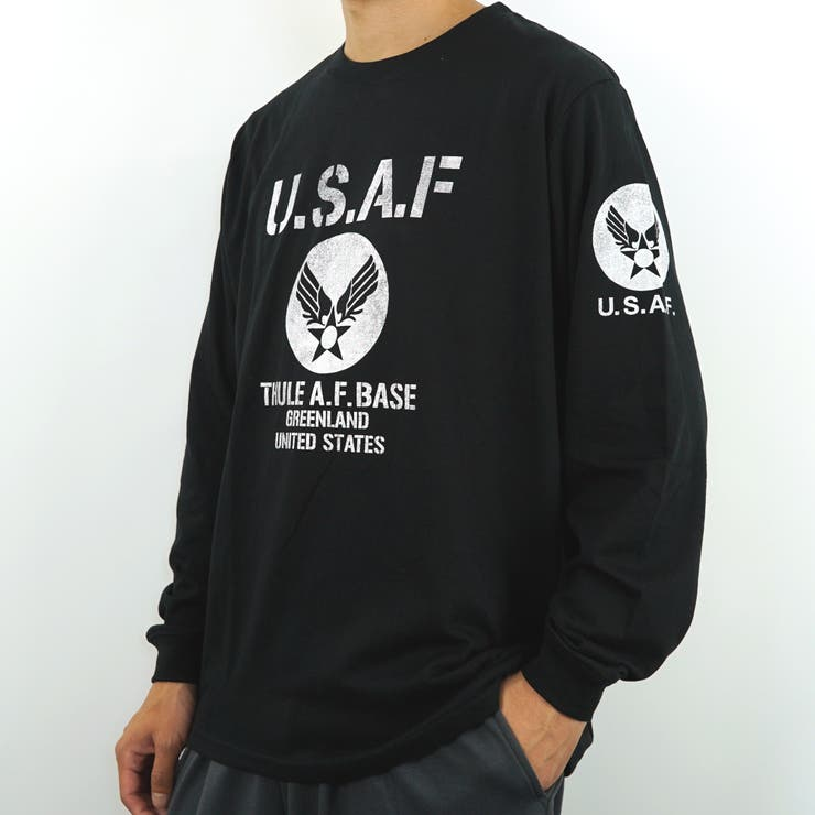 U.S.AIR.FORCEロングスリーブTシャツ   GROOVY STORE   詳細画像1