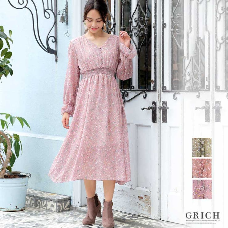 Growing Richのワンピース・ドレス/シフォンワンピース   詳細画像