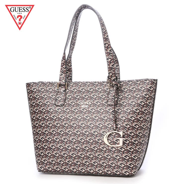 [GUESS] G CUBE SMALL CLASSIC TOTE