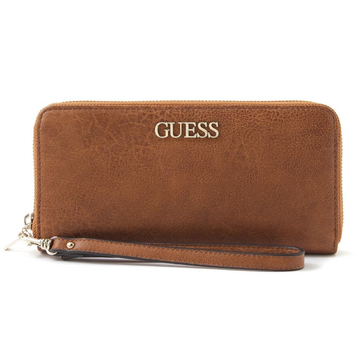 [GUESS] ALBY Large Zip Around Wallet   GUESS【WOMEN】   詳細画像1