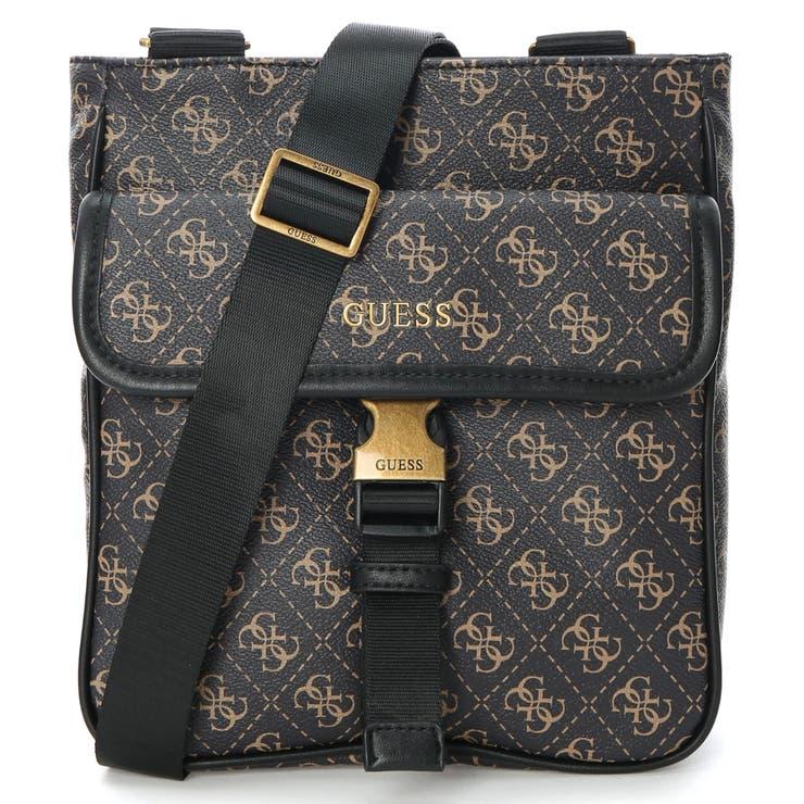 [GUESS] Vezzola 4G Logo Crossbody Bag   GUESS【MEN】   詳細画像1
