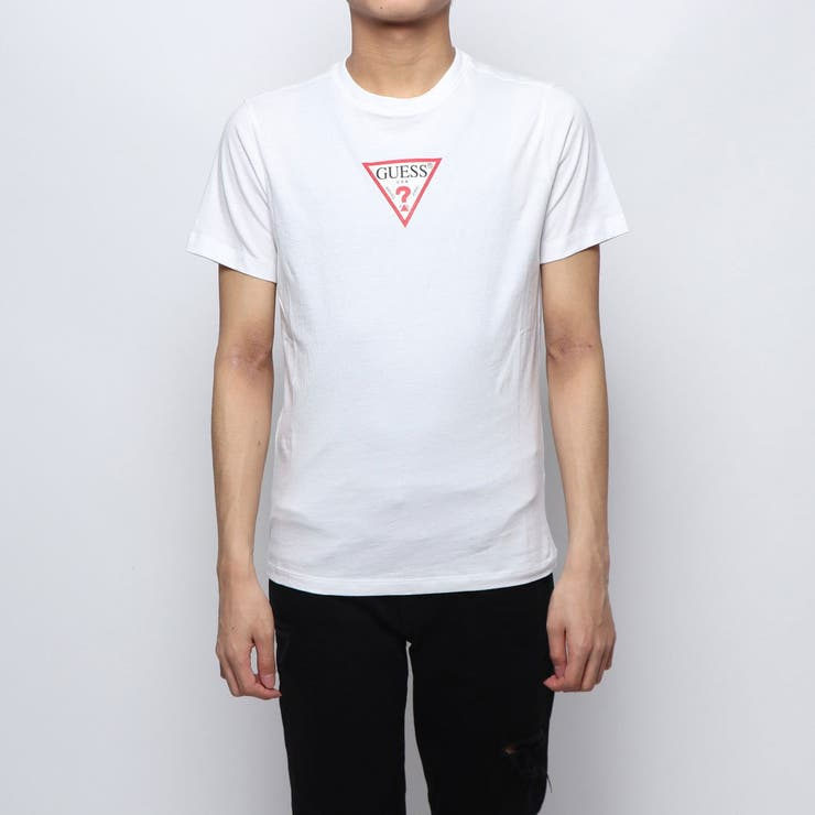 [GUESS] SMALL TRIANGLE LOGO TEE   GUESS【MEN】   詳細画像1