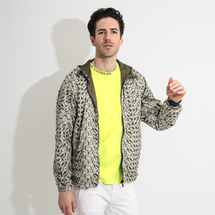 [GUESS] All Over Logo Reversible Jacket | GUESS【MEN】 | 詳細画像1
