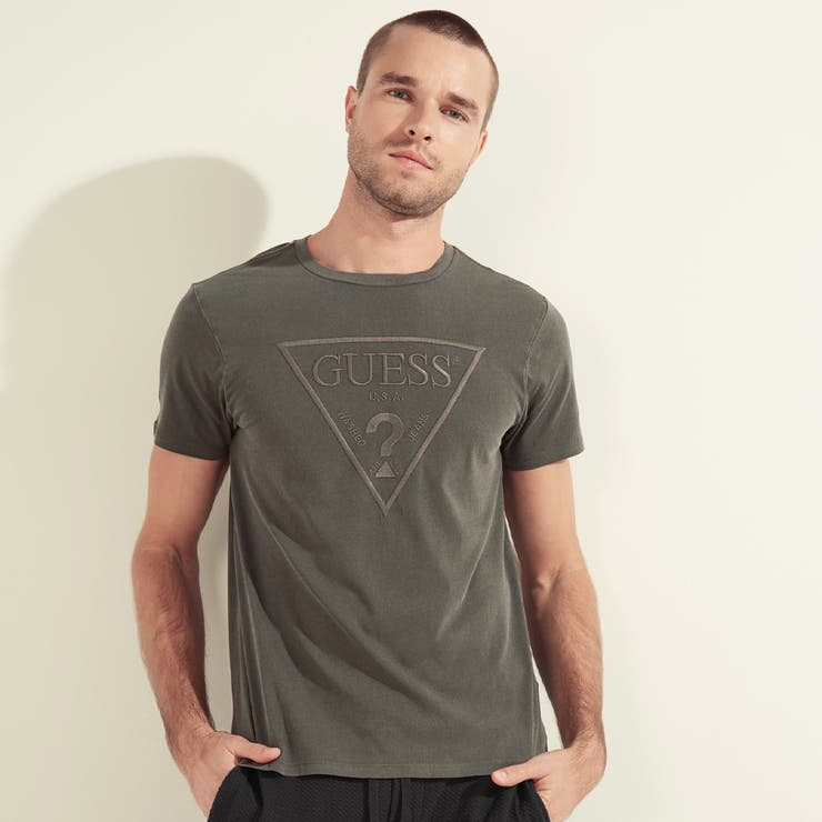 [GUESS] Embroidered Logo Tee | GUESS【MEN】 | 詳細画像1