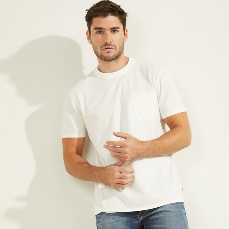 [GUESS] Sueded Jersey Tee   GUESS【MEN】   詳細画像1