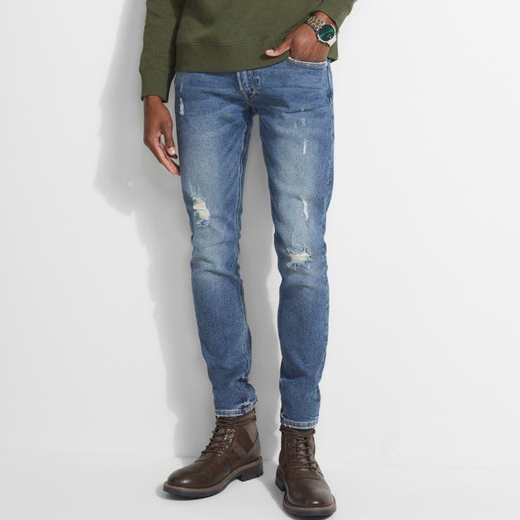 [GUESS] Distressed Skinny Denim Pant | GUESS【MEN】 | 詳細画像1