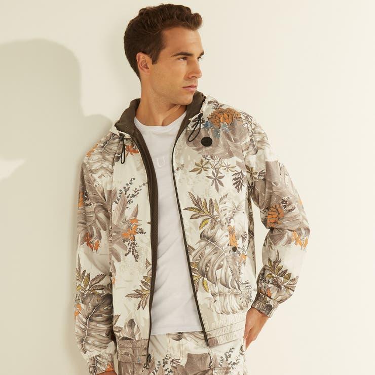 [GUESS] Tropical Camo Jacket | GUESS【MEN】 | 詳細画像1