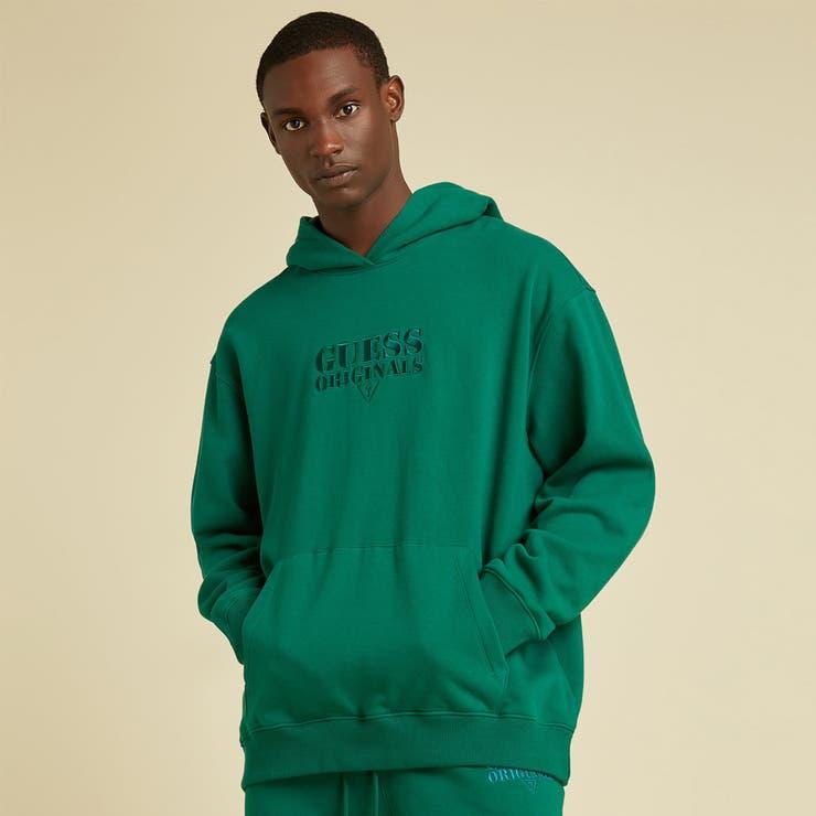 [GUESS] GUESS Originals Kit Logo Hoodie   GUESS【MEN】   詳細画像1