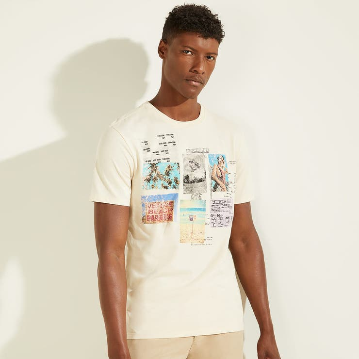[GUESS] Eco Summer Collage Tee   GUESS【MEN】   詳細画像1