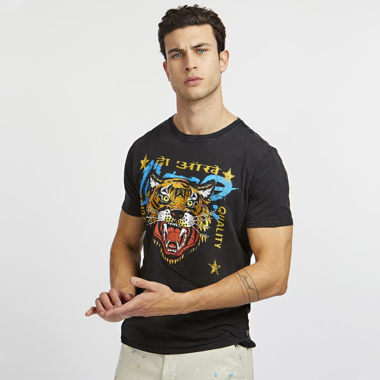[GUESS] Stacked Logo Tee | GUESS【MEN】 | 詳細画像1