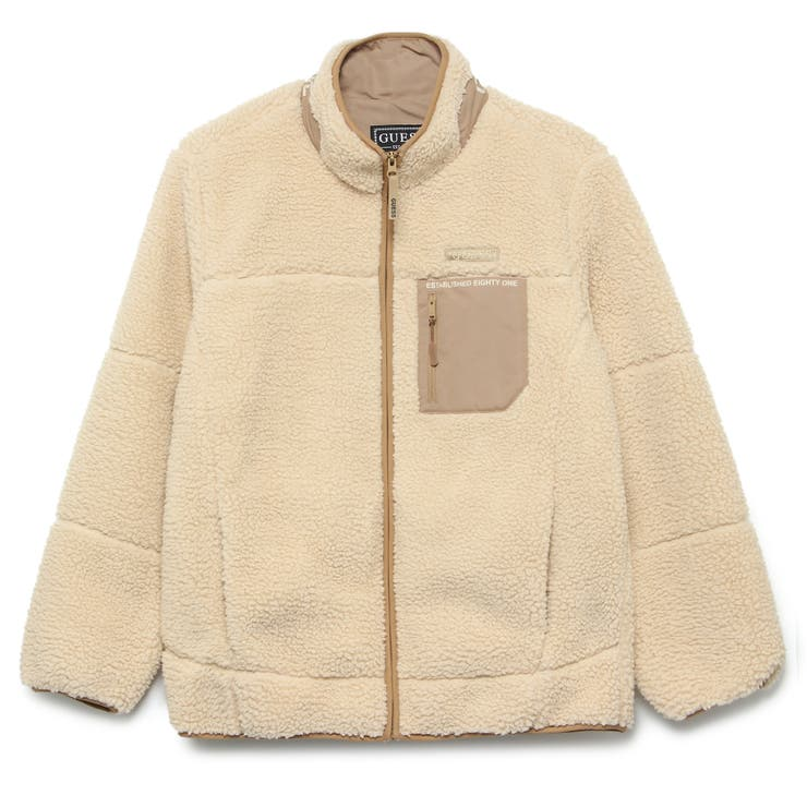 [GUESS] Boa Zip Up Jacket | GUESS【MEN】 | 詳細画像1