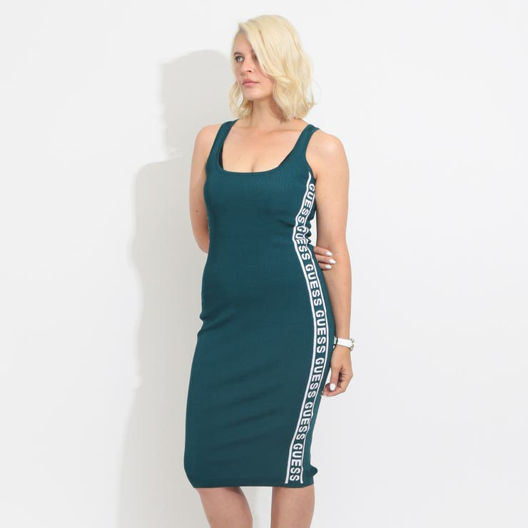 [GUESS] GENNY SIDEBAND SWEATER DRESS | GUESS【WOMEN】 | 詳細画像1