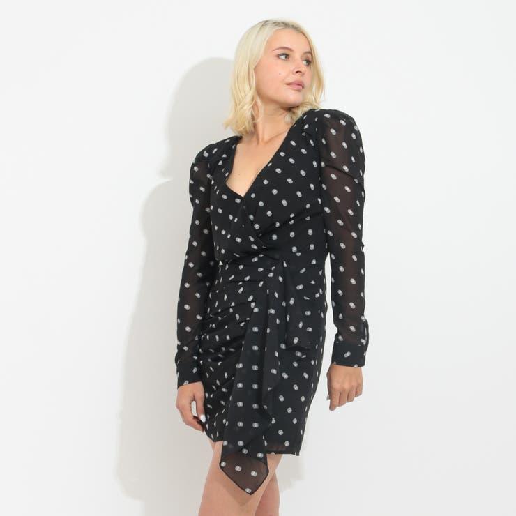 [GUESS] AMAL DRAPED DRESS | GUESS【WOMEN】 | 詳細画像1