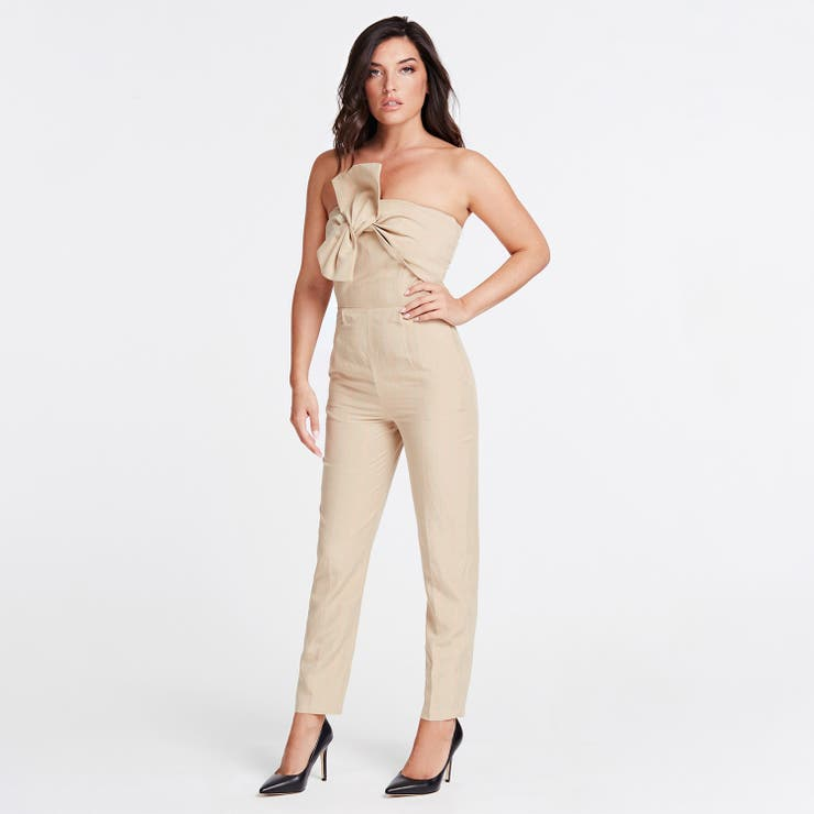[GUESS] Evelina Strapless Bow Jumpsuit   GUESS【WOMEN】   詳細画像1