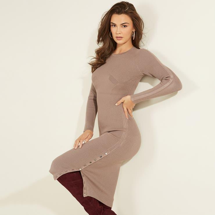 [GUESS] Shae Sweater Dress | GUESS【WOMEN】 | 詳細画像1