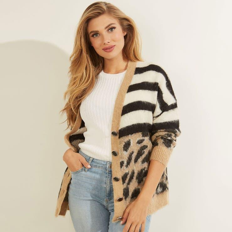 [GUESS] Jenna Cardigan Sweater | GUESS【WOMEN】 | 詳細画像1