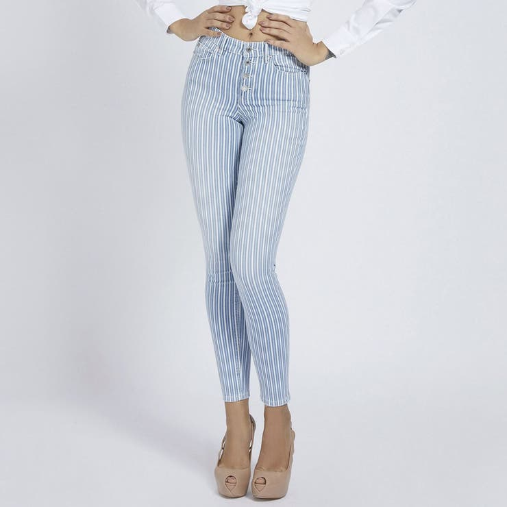 Exposed Buttons Skinny   GUESS【WOMEN】   詳細画像1