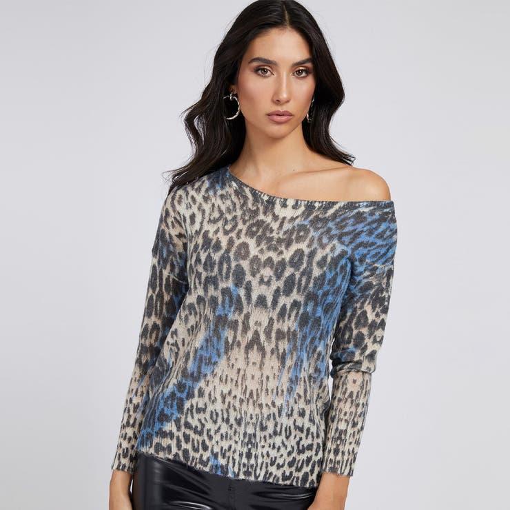 [GUESS] Animalier Print Sweater | GUESS【WOMEN】 | 詳細画像1