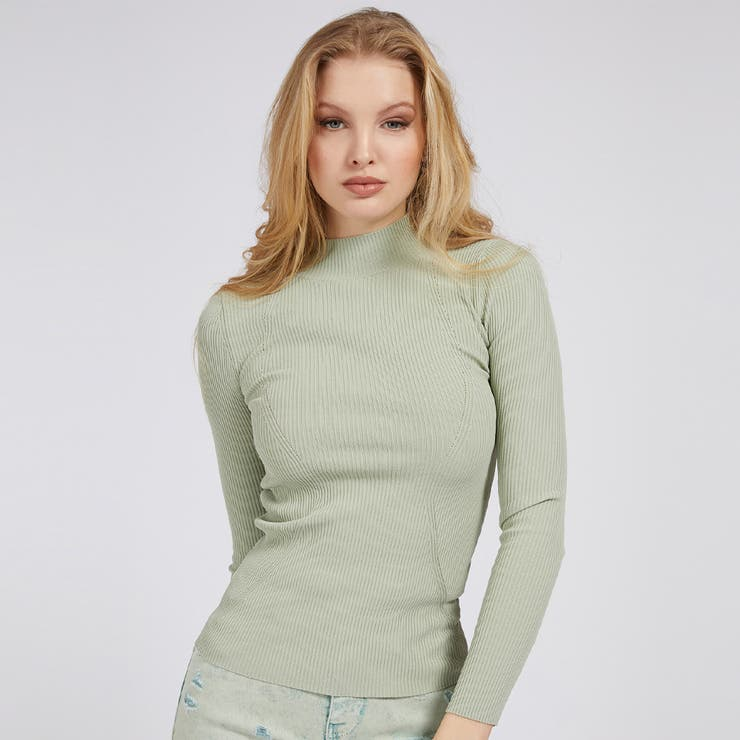 [GUESS] Clea Turtle Neck Sweater   GUESS【WOMEN】   詳細画像1