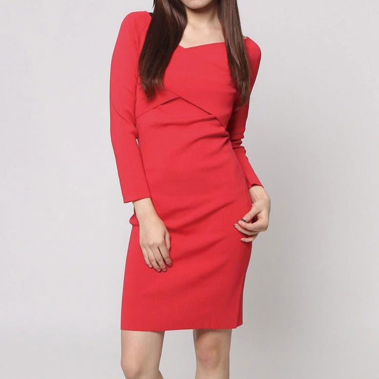 [GUESS] IRINA CROSSOVER STRETCH DRESS | GUESS【WOMEN】 | 詳細画像1