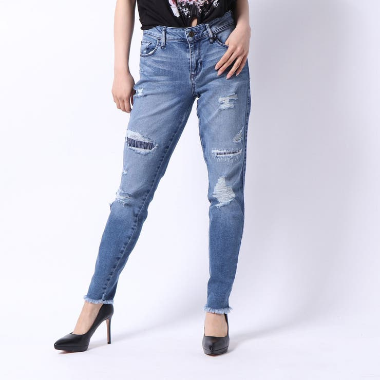 DISTRESSED SEXY CURVE | GUESS【WOMEN】 | 詳細画像1