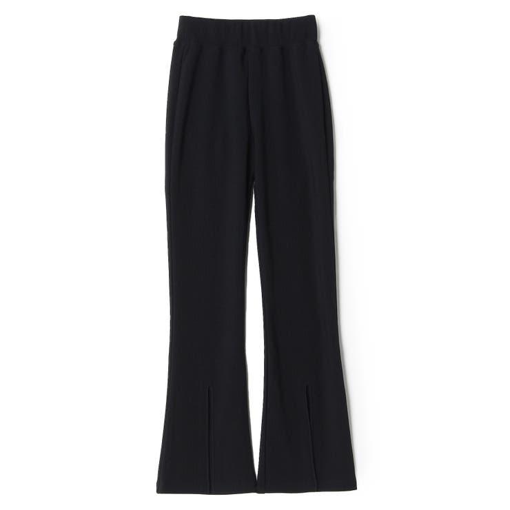 [GUESS] Front Slit Wide Pants | GUESS【WOMEN】 | 詳細画像1