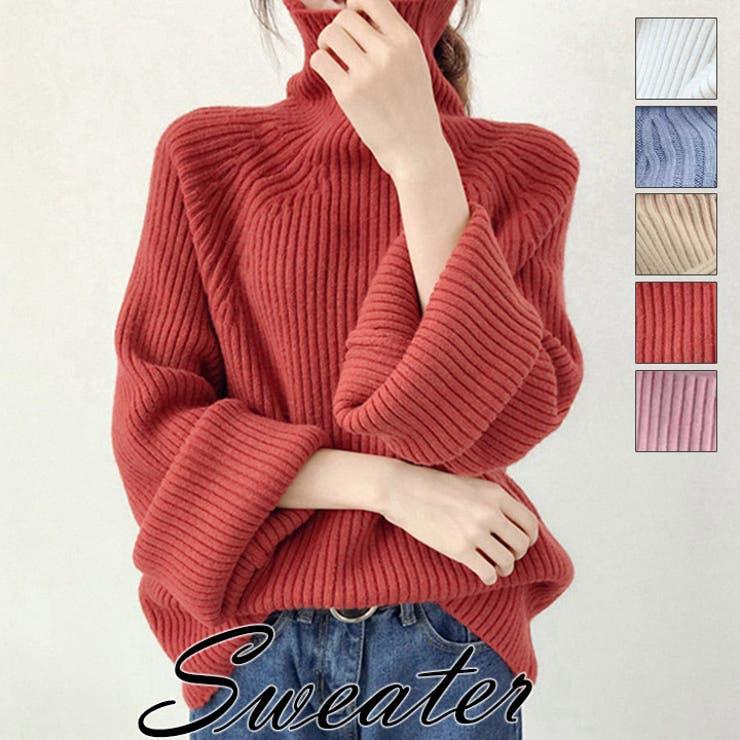セーター ニット タートルネック | HANAHANA | 詳細画像1
