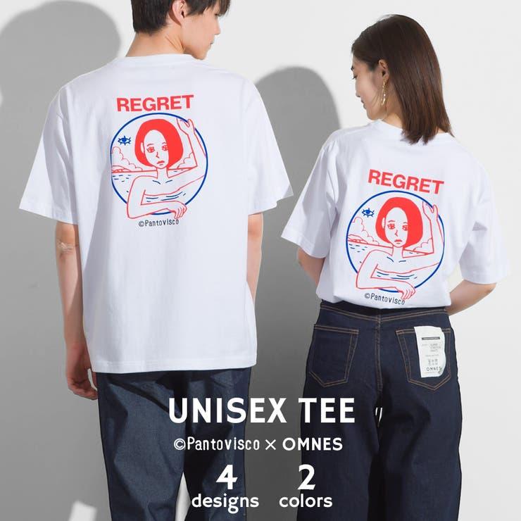 【Pantovisco×OMNES】ユニセックス プリント半袖Tシャツ   haptic   詳細画像1