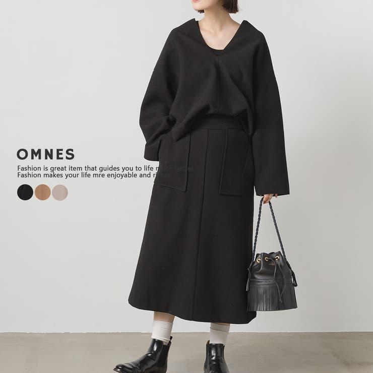 【OMNES Supremo】圧縮ジャージAラインスカート | haptic | 詳細画像1