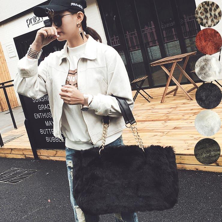 バッグ ファー ファーバッグ レディース ハンドバッグ トートバッグ 鞄 カバン 大きめ 大容量 シンプル フェイクファー 冬