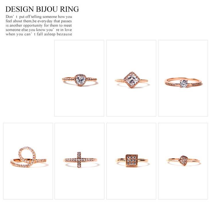 デザインビジューリング 指輪 アクセサリー 小物 レディース