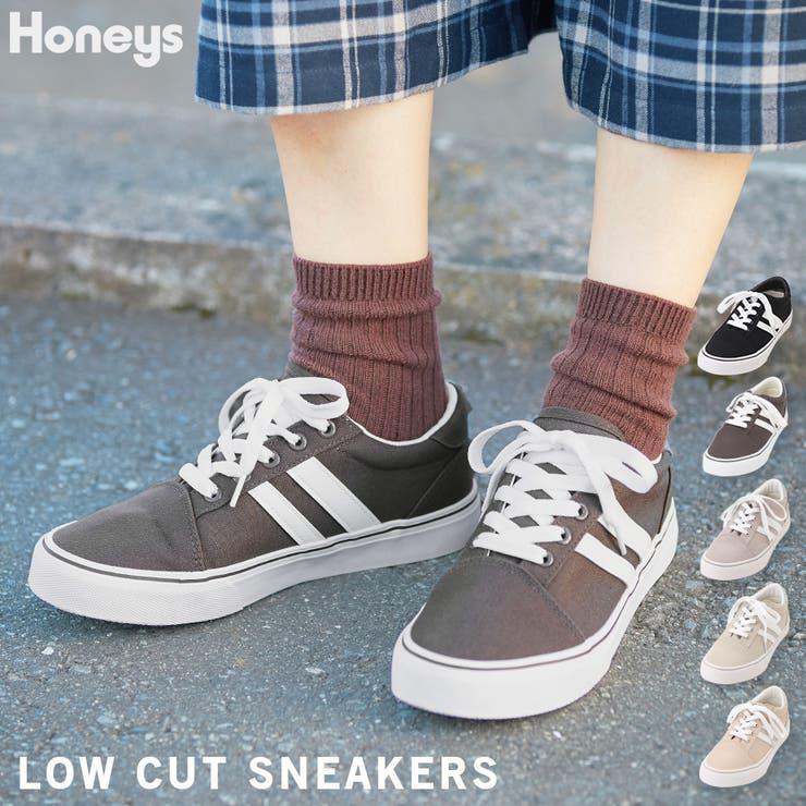 靴 シューズ スニーカー | Honeys | 詳細画像1