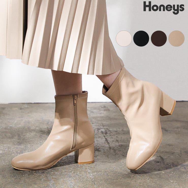 靴 シューズ ショートブーツ | Honeys | 詳細画像1