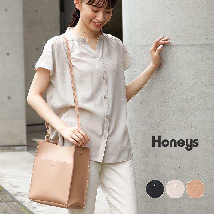 鞄 ショルダーバッグ スクエア   Honeys   詳細画像1