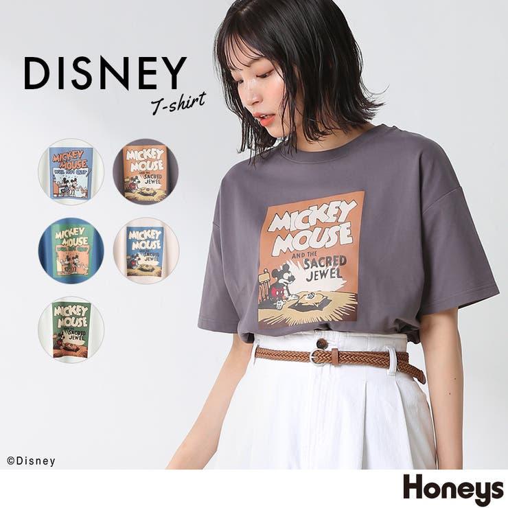 トップス Tシャツ 半袖   Honeys   詳細画像1