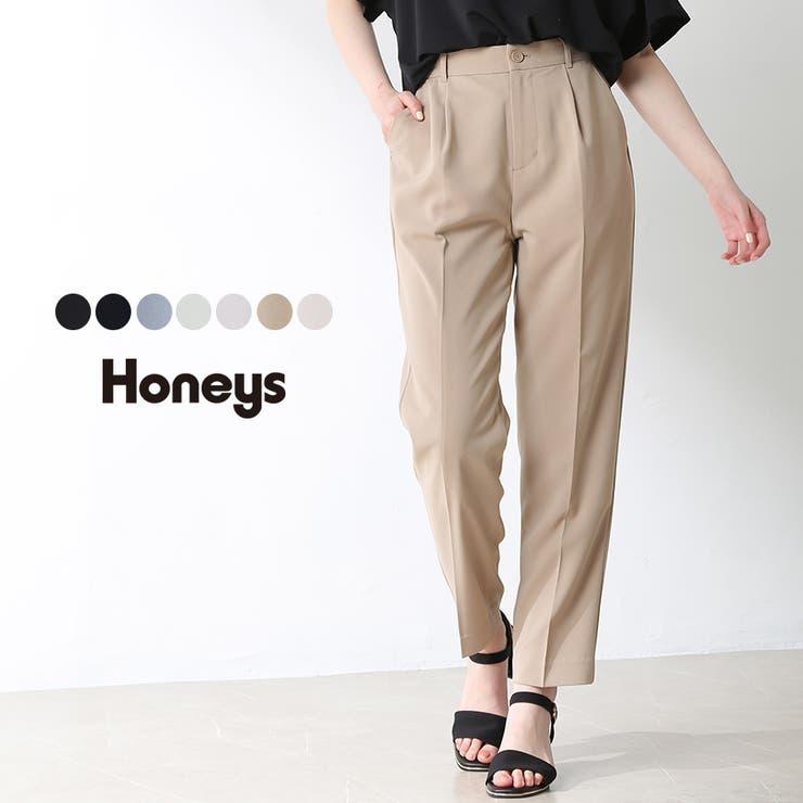 パンツ テーパードパンツ センタープレス | Honeys | 詳細画像1