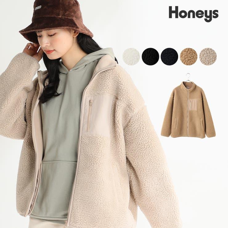 【ハニーズ】スタンドボアブルゾン【WEB限定LLサイズ有】 | Honeys | 詳細画像1