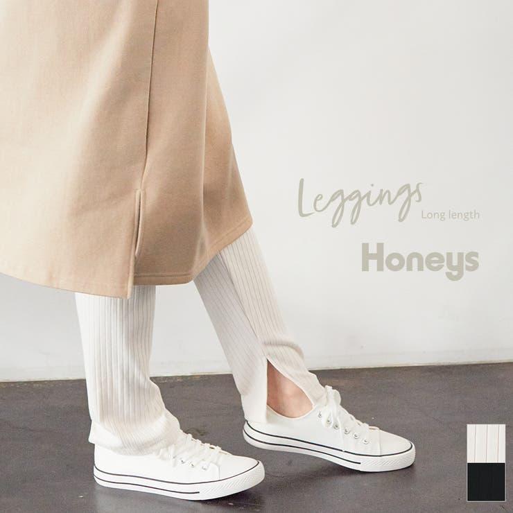 レギンスパンツ レギンス レディース | Honeys | 詳細画像1