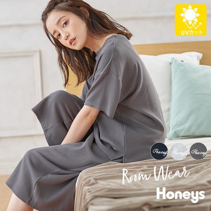 ルームウェア セットアイテム Tシャツ | Honeys | 詳細画像1