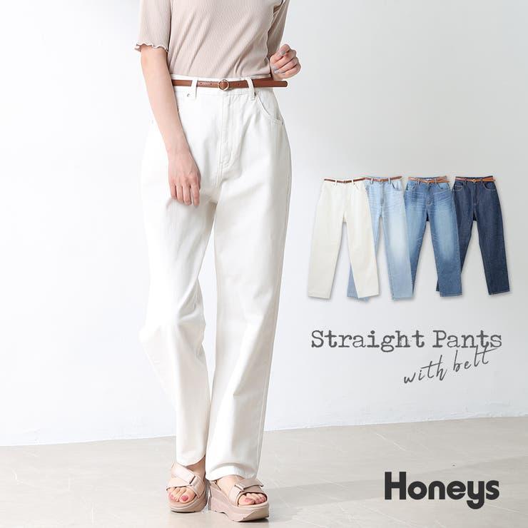 パンツ ズボン ストレートパンツ | Honeys | 詳細画像1