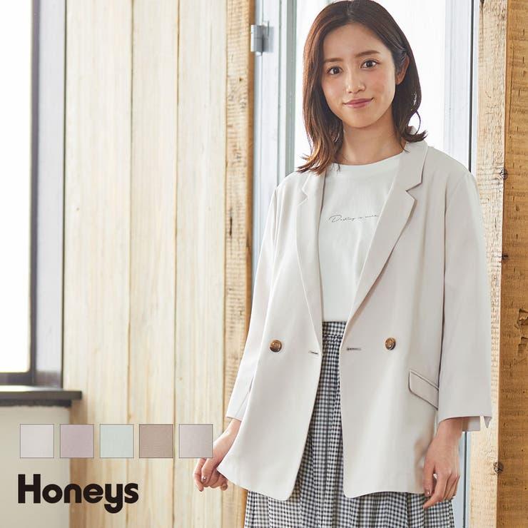 【ハニーズ】ダブルテーラージャケット | Honeys | 詳細画像1